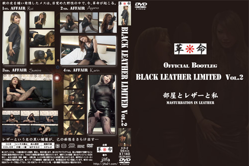 BLACK LEATHER LIMITED Vol.2 部屋とレザーと私